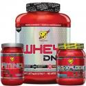 BSN pack1 - 1 Whey DNA 1,87kg + 1 NO-Xplode 1kg + 1 Amino X 1kg